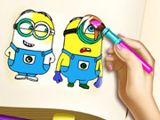 Minions Coloring Book Game