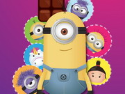 puzzle, boy , girl , kid , matching , minion , minions , match