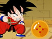Goku Collects Dragonballs Game