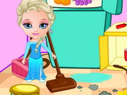 Princess Elsa Clean Game