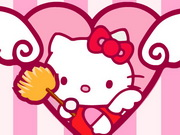 Hello Kitty Room Cleanup Game