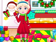 Elsa Baby Celebrate Christmas Game