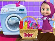 Masha Laundry Day Game