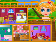Baby Sana Doll House Game