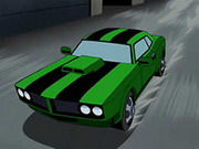 Ben 10 Car Keys Game