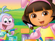 animal , dora , funny , girl , kid , monkey , valentine ,puzzle