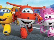 Super Wings Hidden Stars Game