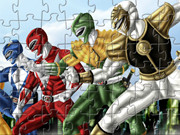 Power Rangers Jigsaw