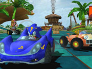 Sonic Car Keys Game