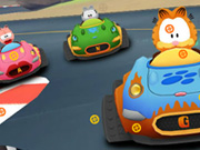 Garfield Hidden Car Tires