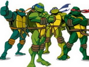 Ninja Turtles Memory Game