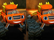 Blaze Monster Truck Differences Game