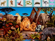Animals Hidden Objects Game