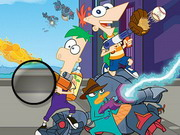 puzzle, boy , kid , phineas and ferb , phineas , and , ferb , hidden , letters