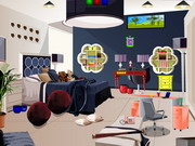 Escape Modern Family Room Game