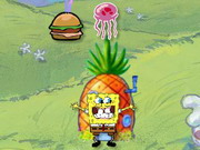 Spongebob Squarepants Burger Swallow Game