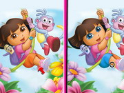 Dora 6 Differences Game