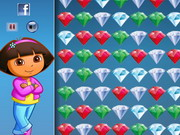 Dora Crystal Connect Game