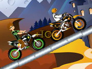 Ben 10 Halloween Race Game