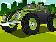 Jumping Monster Beetle Game