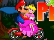 racing, balance , bike , boy , driving , girl , mario , mario , saves , peach