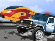 Police Train Chase Game