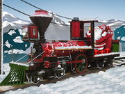 Santa Steam Train Delivery Game