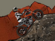 Wasteland Bike Trial Game