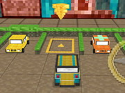 racing, boy , car , driving , parking , minecraft