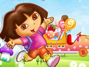 racing, cartoon , dora , driving , truck , dora , candy , transport