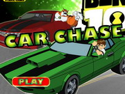 Ben 10 Car Chase Game
