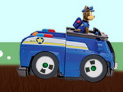 Paw Patrol Car Race Game