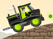 racing, ben 10 , driving , monster , truck , ben 10 , extreme