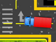 Factory Truck Parking Game