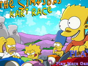 The Simpsons Kart Race Game