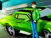 Ben 10 Drift Game