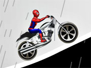 racing, balance , bike , driving , spiderman , stunt , spiderman , drive