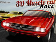 3d Muscle Car Race Game