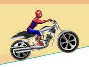 racing, balance , bike , boy , driving , kid , motorcycle , spiderman , stunt , spiderman , drive