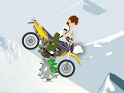 Ben 10 Winter Moto Ride Game