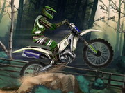 Motocross Forest Challenge Game