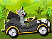 racing, animal , car , cartoon , driving , tom , and , jerry , green , valley