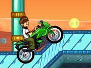 Ben 10 Bike Remix Game