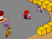 Mario Mini Moto Game