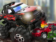 racing, driving , monster , truck , urban , crusher