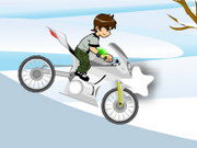 Ben 10 Winter Ride Game