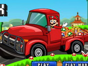 Mario Gifts Truck Game