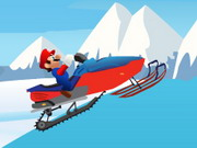 Mario Snowmobile Game