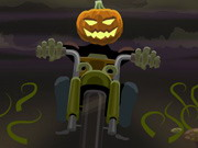 Pumpkin Head Rider Game
