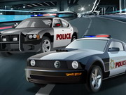 racing, car , driving , police , double , pursuit
